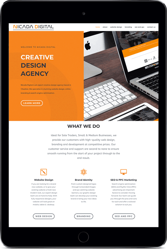 website design services in Berwickshire