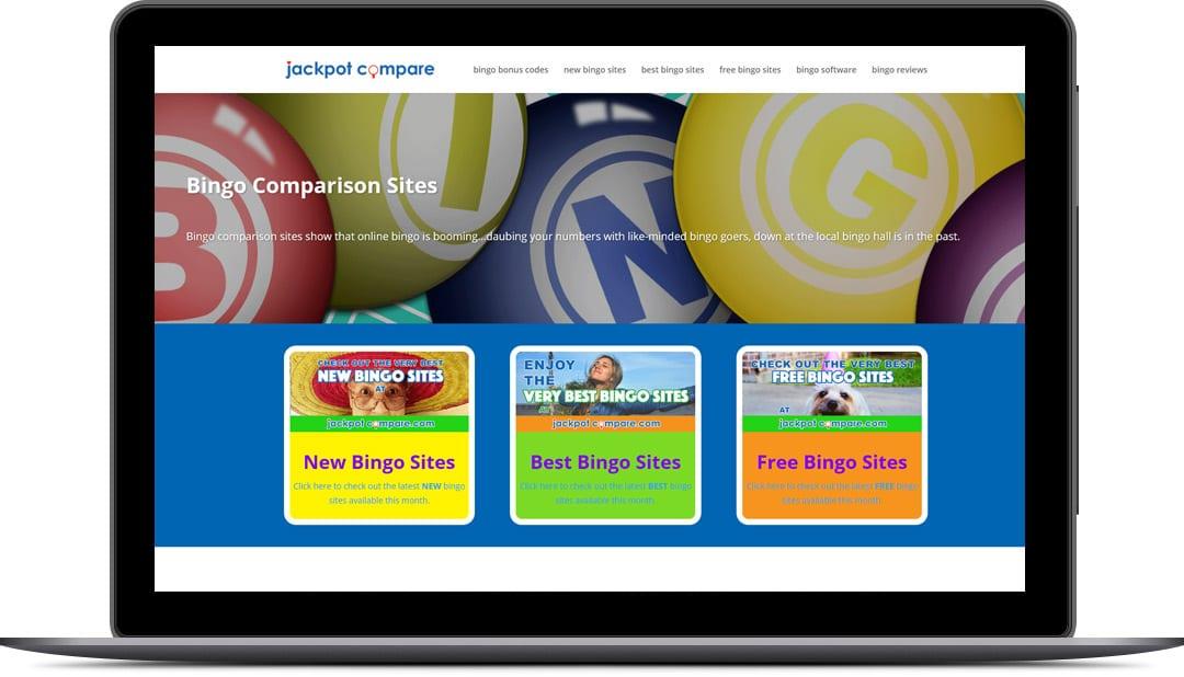 comparison website design