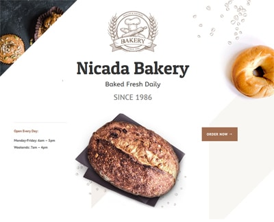 bakery example layout