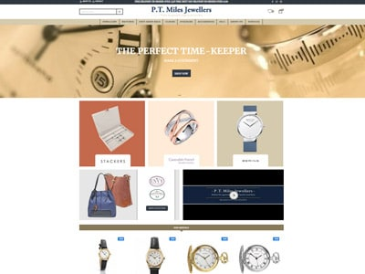 Case Study Jewellery Website