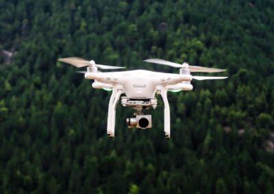 drone camera flight