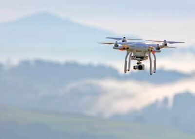 drone camera Clwyd